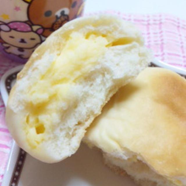 クリームパンとチョコパン