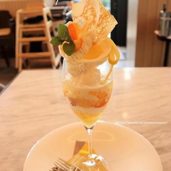 Parfait au Soleil♡ホテルメトロポリタン川崎Terrace and Table