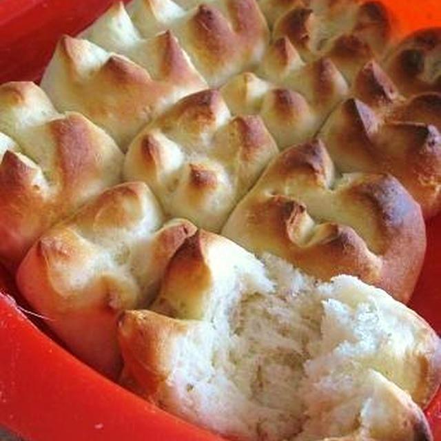 もっちり^^じゃがバター風ちぎりパン