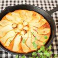 スキレットdeリンゴと人参のケーキ