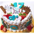 バースデーケーキ♡オーダー ~17歳♡野球部ケーキ~