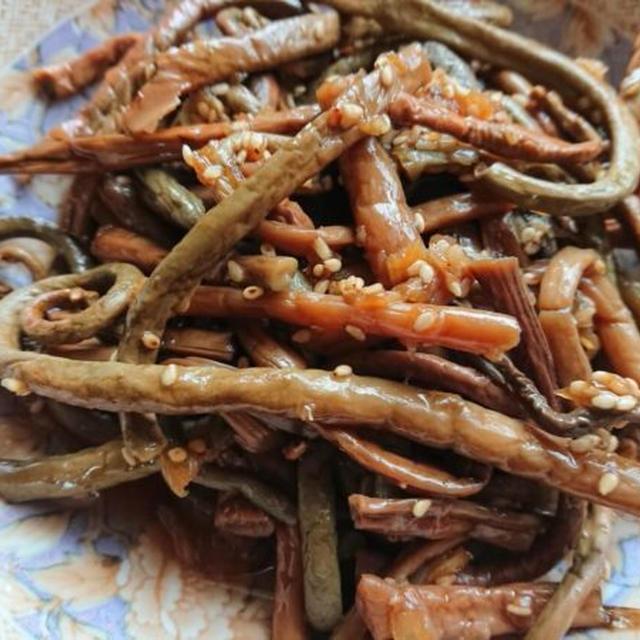 ぜんまいナムル+わらびナムルの韓国人気レシピ。ビビンバにも♪コサリナムル
