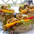 ママが食べさせたい~カレーマヨソースの豚肉とお野菜のバーガー