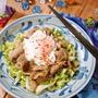 ガッツリ食べちゃって♪豚バラとキャベツのスタミナ焼