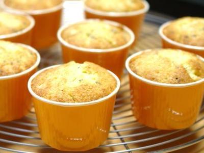 >レモンミントのカップケーキ~スパイス大使 by かなぱんさん