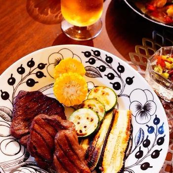 完走ポチレポ!&美味しいお肉で真夜中のご馳走ごはん♪