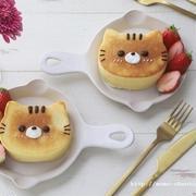 猫の日!ねこちゃんパンケーキ♡動画レシピ