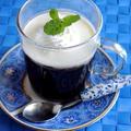 猛暑のときはアガーを使って☆アガーのコーヒーゼリー♡