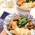 惣菜リメイク、かんたん肉豆腐