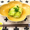 タネを作らない!楽ちんロール白菜☆和風味