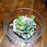 野菜たっぷりサラダ