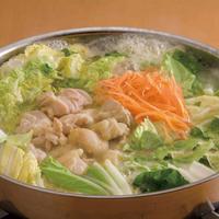 豚肉と野菜で作った鍋!キムチ鍋