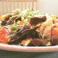 豚肉とキクラゲの中華炒め