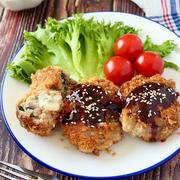 大皿レシピは魅力的すぎる。豚こまと梅肉大葉のミルフィーユトンカツ