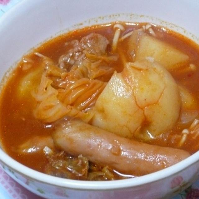 完熟トマト鍋 と 豚肉と里芋のカレー煮 ♪
