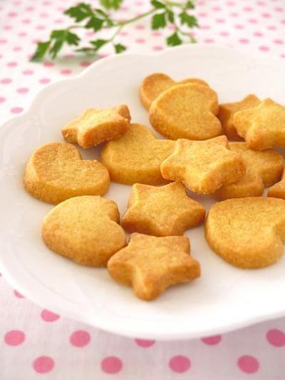 材料2つで作る♪簡単さくさくクッキー & マイナビニュースにてレシピ好評連載中!