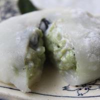 豆腐クリーム大福~抹茶味~