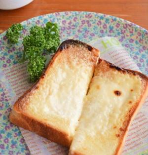チーズ不要!?チーズケーキ風トースト ☆