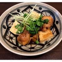 いつもと違った味に☆ 鶏もも肉と豆腐の中華風甘辛煮