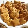 卵もバターも使わない☆オリーブオイルときな粉のクッキー