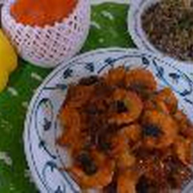 塩麹入りパプリカと海老のチリソース