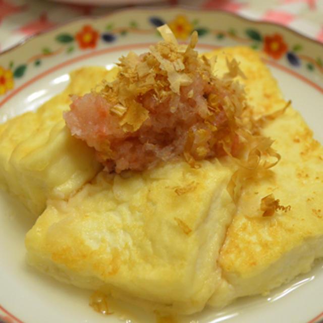 梅おろしかけ  豆腐編