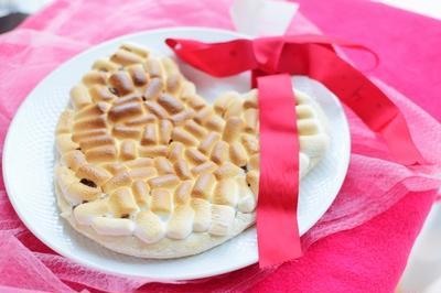 バレンタインにラブマシュチョコピザ