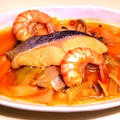 魚介のトマト鍋