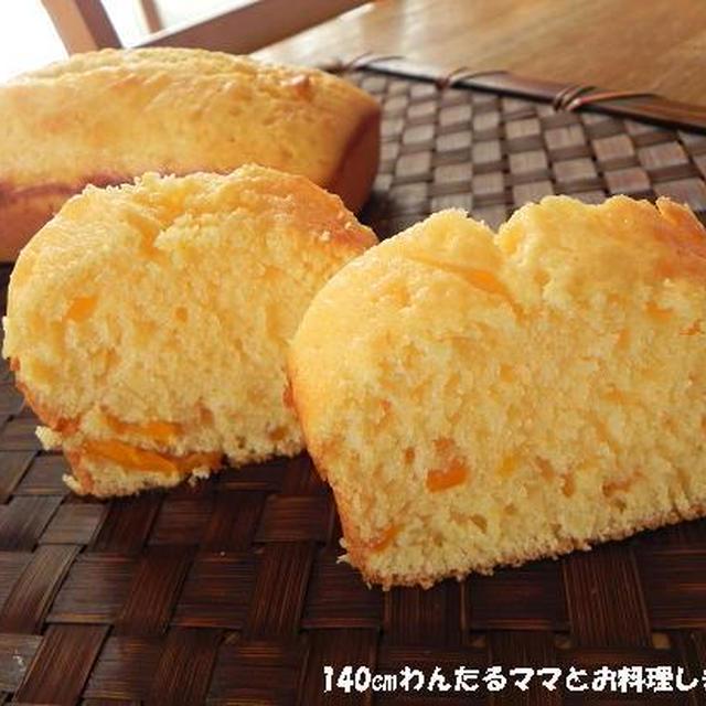 マンゴーのココナッツオイルパウンドケーキ