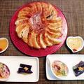 焼き餃子はパリパリ副菜はさっぱり☆しらたきの中華風サラダ♪~♪ by みなづきさん
