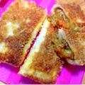 【簡単レシピ】パン生地不要❤️食パンで簡単カレーパン
