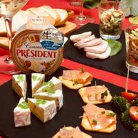カマンベールチーズdeおうちパーティー