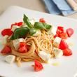 モッツァレラとフルーツトマトのスパゲティ ケッカ風