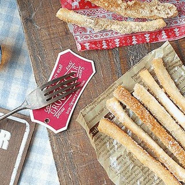 パンの耳活用♡簡単で美味しい♡シュガーラスク&黒糖きな粉ラスク