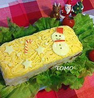 簡単♪クリスマス押し寿司