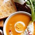 なんじゃこりゃ〜のスープとパンの朝食