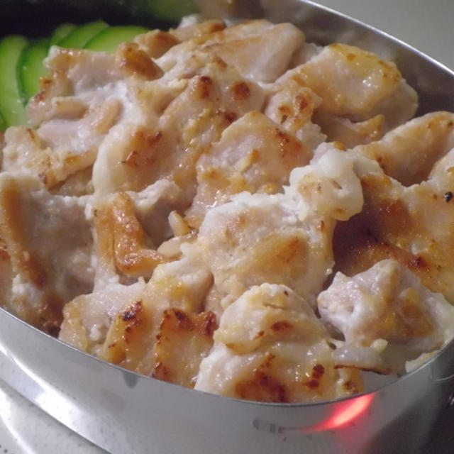 豚の塩麹マヨ焼き弁当♪