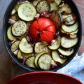 全部入れて炊くだけ。 爽やか酸味と野菜たっぷりが嬉しい 和ラタトゥイユたこめし - 豊菜JIKAN -   #Caponata  # ratatouille by 青山 金魚さん