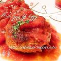 カレーハンバーグ☆withチーズ by Jacarandaさん