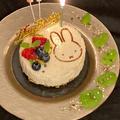 VEGAN誕生日ケーキ&ハプニング