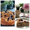 フープロで簡単、美味しい!!栗渋皮煮と胡桃のベークドチーズケーキ~