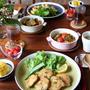 鶏むね肉でミラノ風カツレツ と ラタトゥイユ。