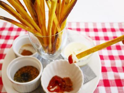 【11月11日は手作りおやつにチャレンジ!】味が選べる薩摩芋プリッツ