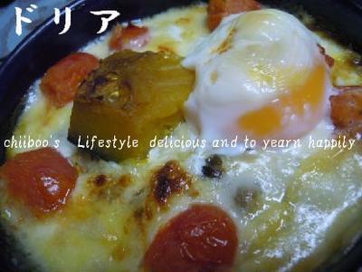夏野菜ドリア~「キーマカレーに北海道チーズで酷ウマし☆」