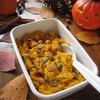 栗かぼちゃと ひよこ豆のサラダ