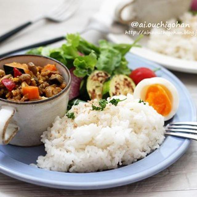 豆腐でカサ増し♡美活&節約なドライカレーレシピ♡ワンプレートでカフェ気分♡