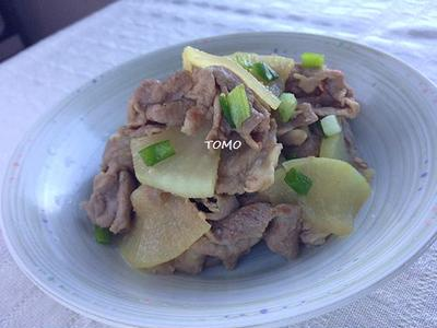 ニンニク香る♪味付けは麺つゆのみ!豚肉と大根の麺つゆ炒め  と  紫蘇の保存方法