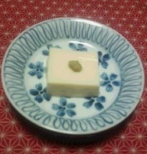 マシュマロ胡麻豆腐
