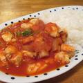 【旨魚料理】フグのトマト煮込みライス