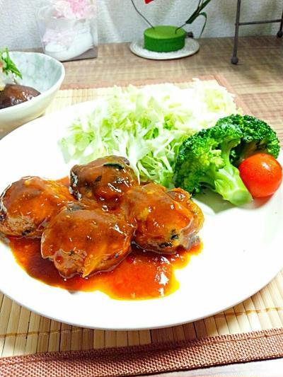 【レシピ】卯の花リメイク肉団子